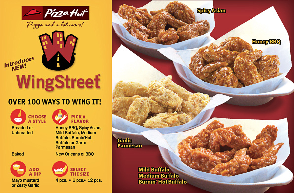 Coupon for wingstreet wings