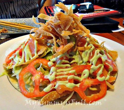 Tonchaya's Special Crunchy Salmon Salad