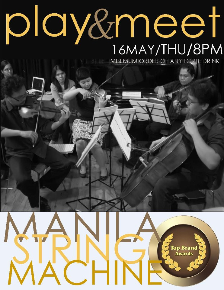 play and meet manila string machine forte coffee house