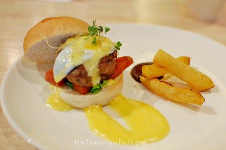 2nd's benedict burger