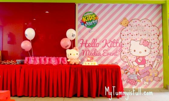 Celebrate a hello kitty birthday with jollibee kids party my tummy jollibee hello kitty theme party stopboris Gallery