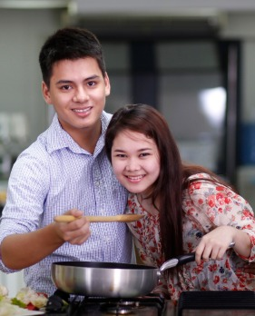 A Valentine Cooking Class
