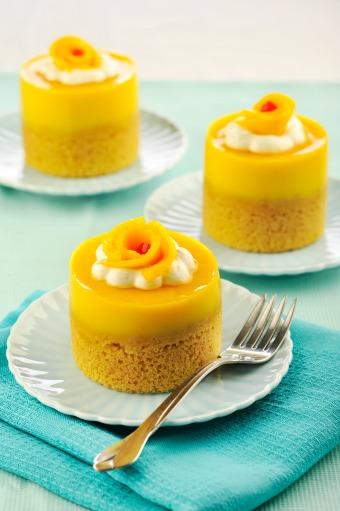 Mango Jelly Layered Cake Recipe from The Maya Kitchen