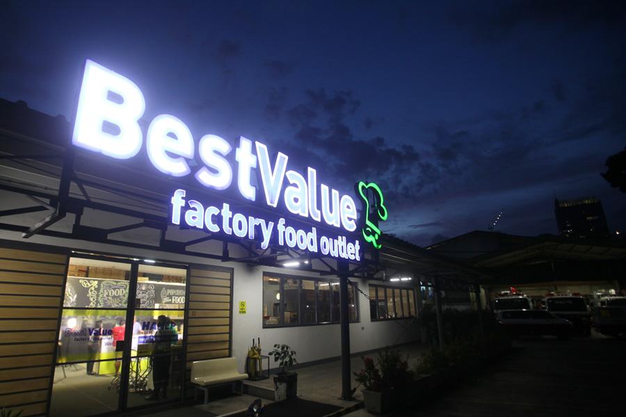 best value factory food outliet