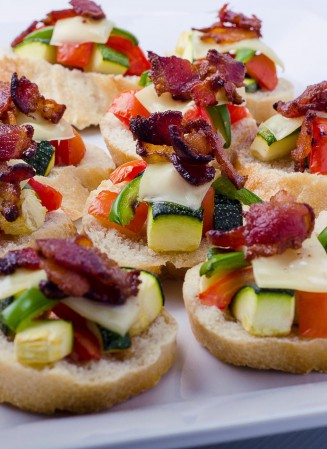 vegetable-bruschetta