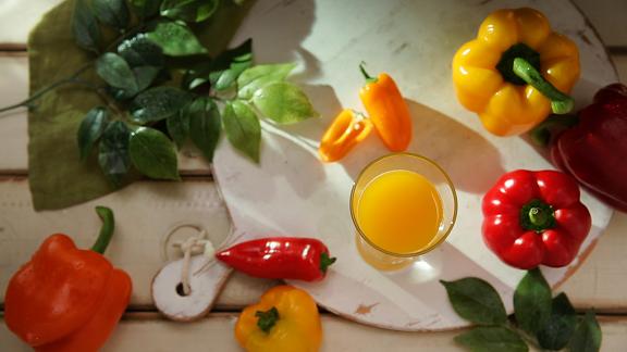 Orange Bellpepper juice for Hurom