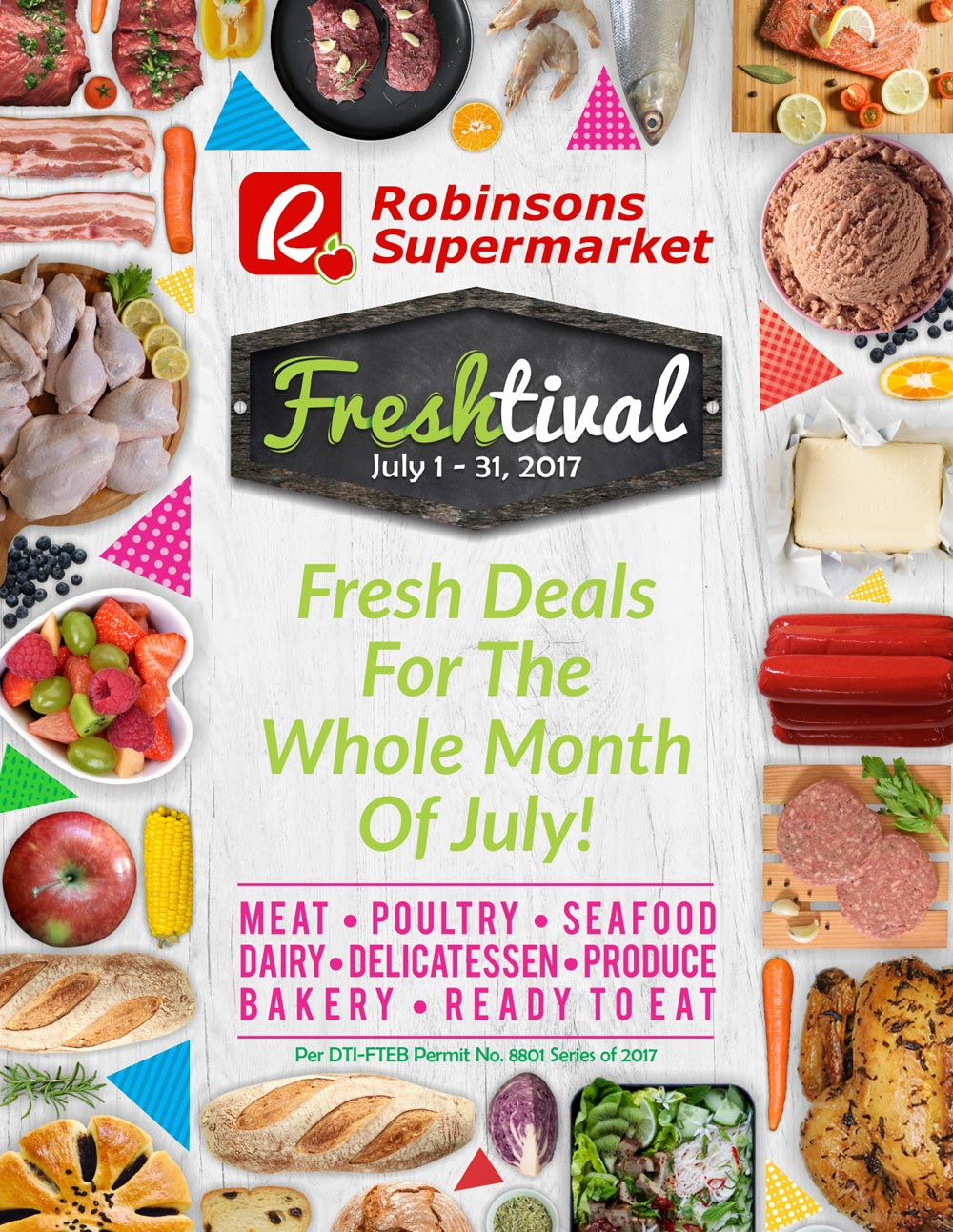 robinsons supermarket freshtival 2017