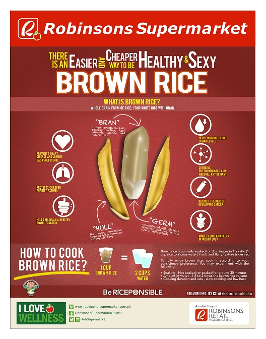 Robinsons Supermarket Brown Rice