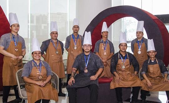 F1 Hotel Manila Team