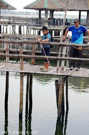 fishing village boy
