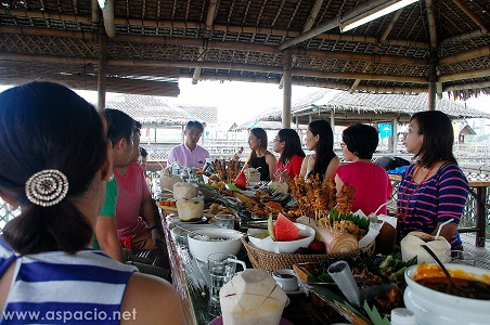 fishing village lunch with gov. gilbert remulla