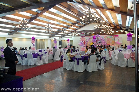 island cove function room party