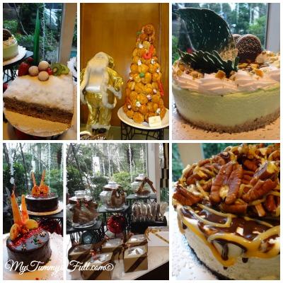 Richmonde Hotel Tree Lighting pastries