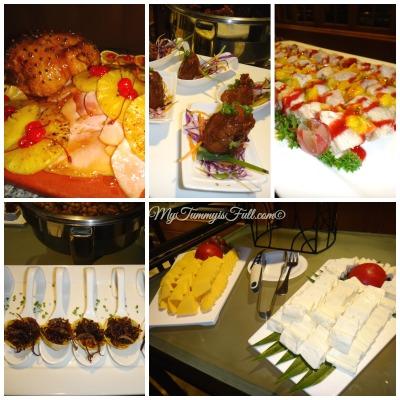 Richmonde Hotel feast