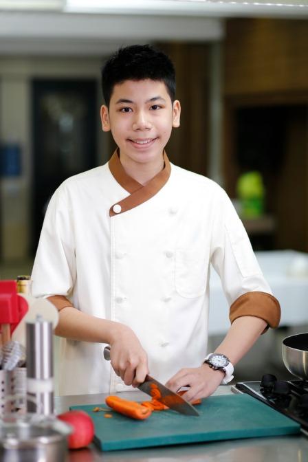 Junior Master Chef Kyle Imao