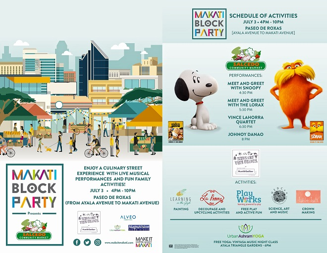 Get Ready for the The Makati Block Party