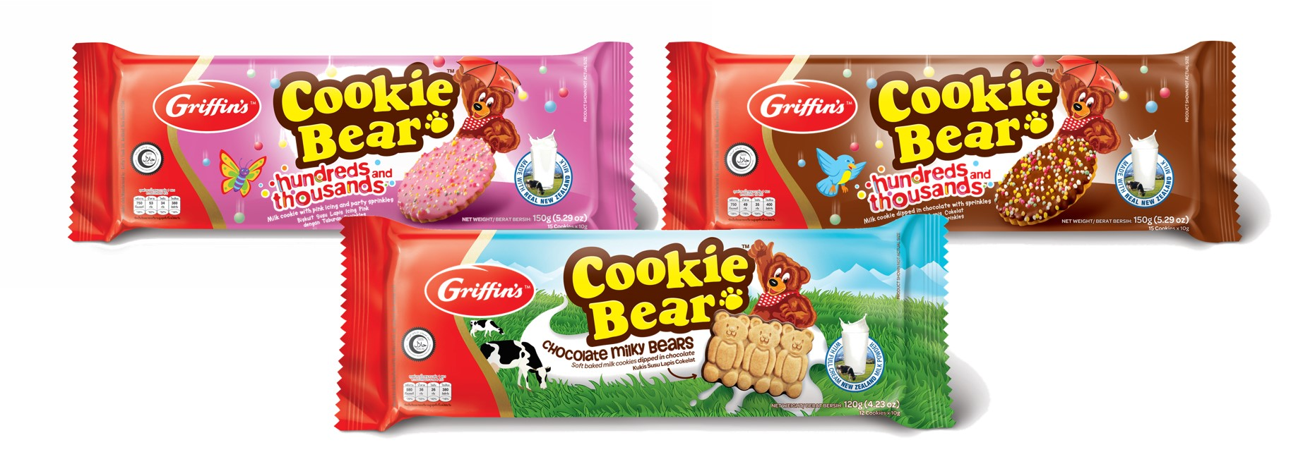 Griffin's Cookie Bear Biscuits from New Zealand's Favorite Biscuit Bakers is Here!