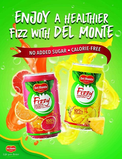 Your Healthier Alternative to Soda: Del Monte Fizzy Juice Drink #DelMonteFizzyJuiceDrink