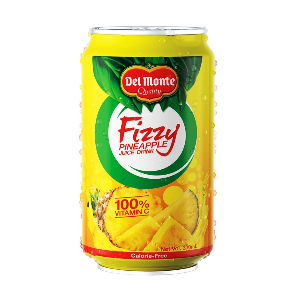 Fizzy Pineapple Juice Drink