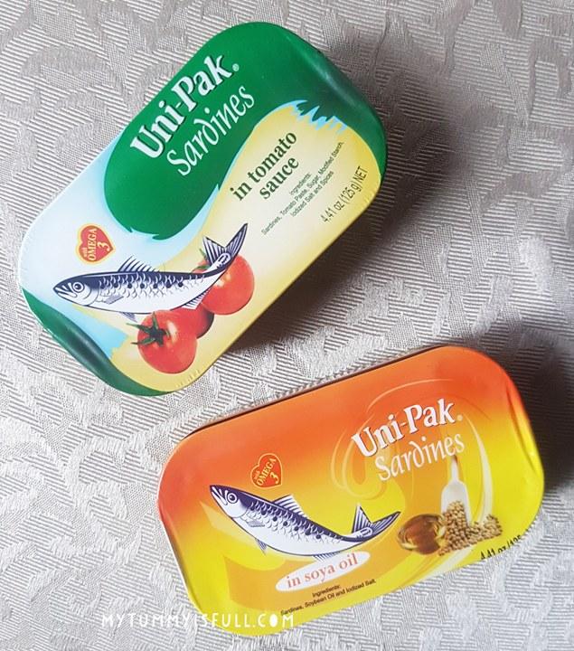 Uni Pak sardines