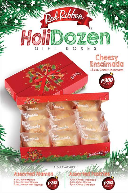 Red Ribbon HoliDozen: The tastiest pastries perfect for gifting
