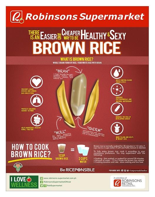 Robinsons Supermarket Brown Rice