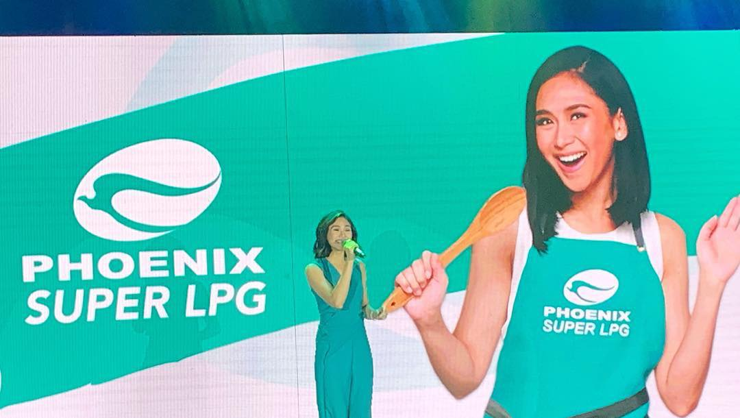 Sarah Geronimo for Phoenix Super LPG
