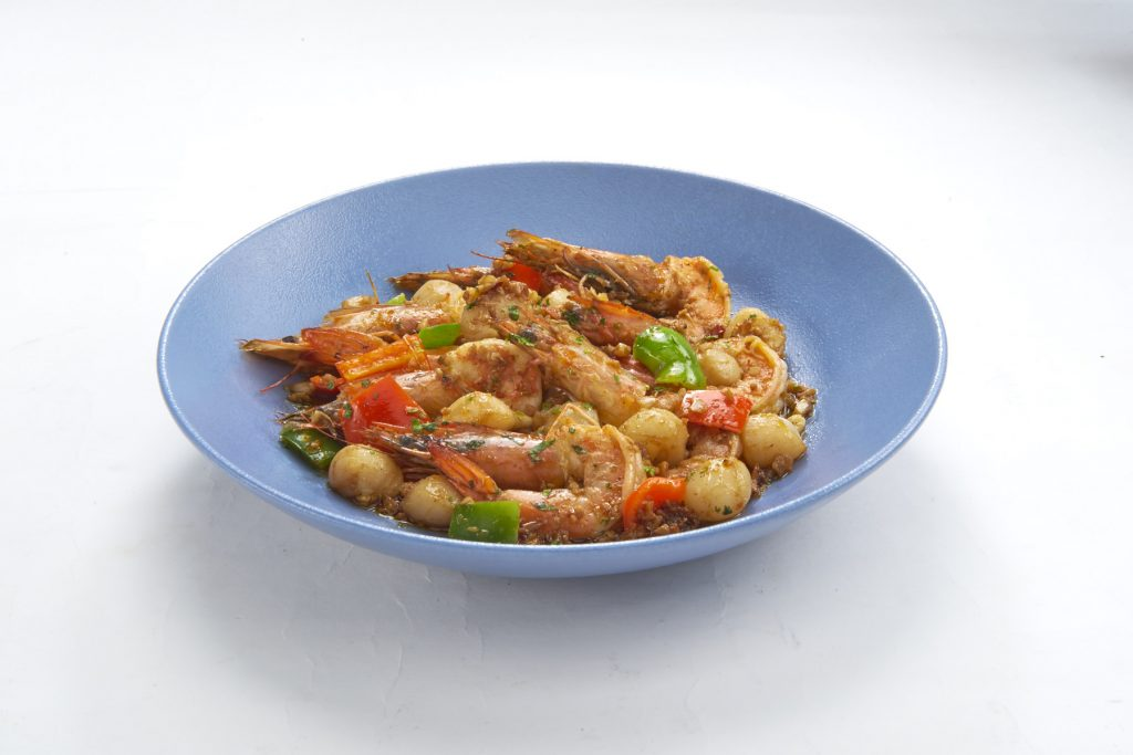 Fish and Co. SAUTEED SHRIMPS AND SCALLOPS
