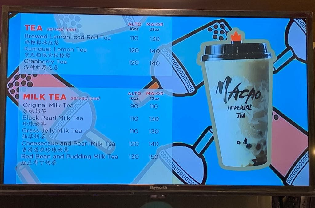 Macao Imperial Tea Opens at SM Cherry Antipolo