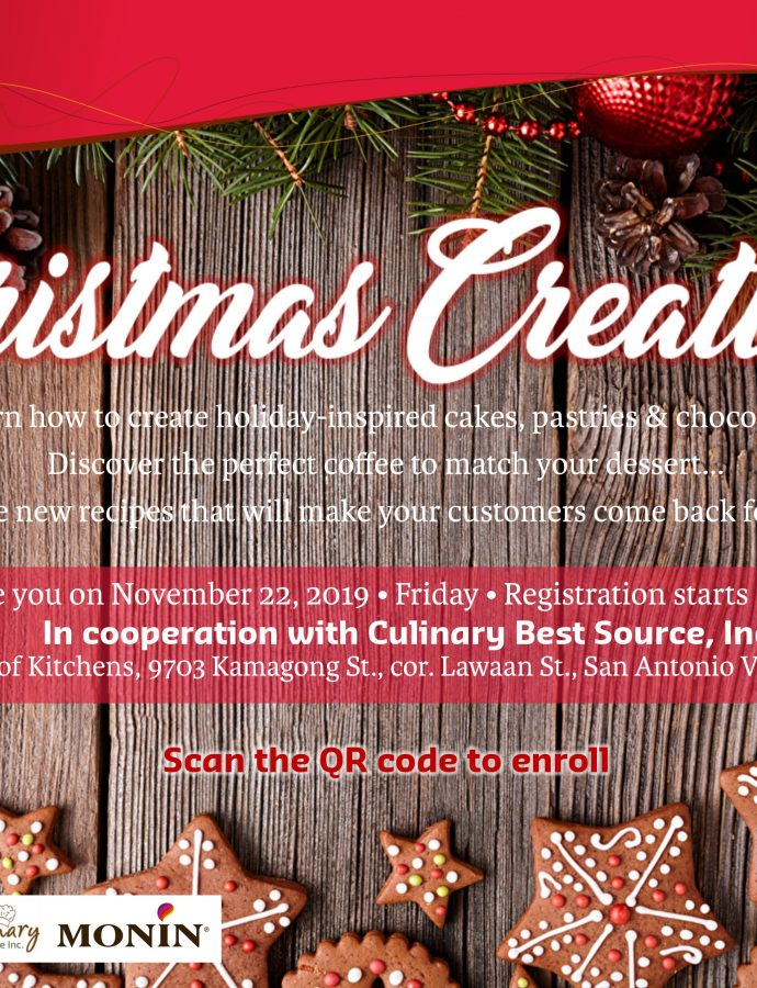 Technolux Business Series: Learn How to Bake Holiday Cakes on Nov. 22