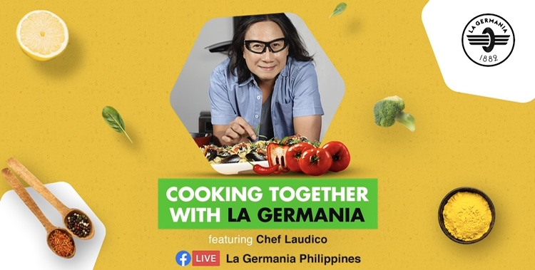 Culinary Rock Star Chef Laudico Brings His Kitchen Online